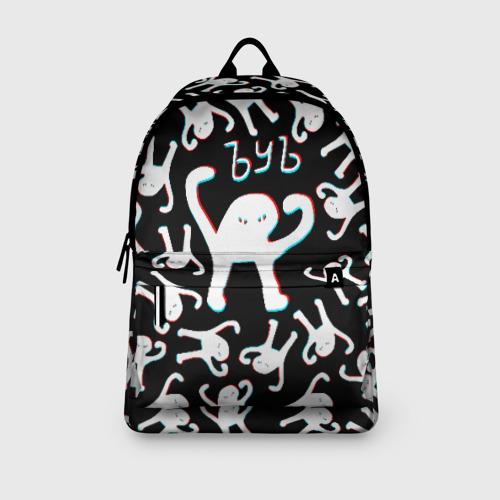 Рюкзак 3D с принтом ЪУЪ СЪУКА ГЛИТЧ, вид сбоку #3