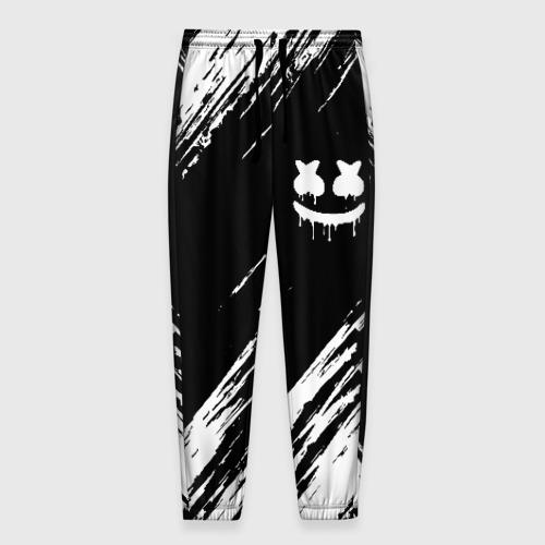 Мужские брюки 3D с принтом MARSHMELLO, вид спереди #2