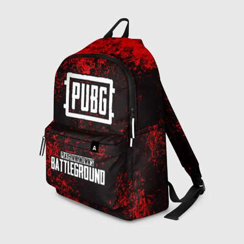 Рюкзак 3D с принтом РЮКЗАК PUBG, вид спереди #2