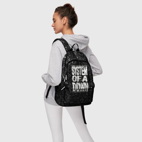 Рюкзак 3D с принтом System of a Down, фото #4
