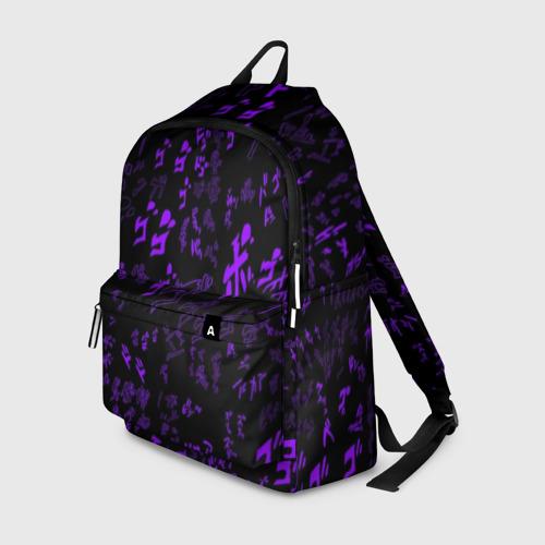 Рюкзак 3D [JJBA] Menacing Pattern