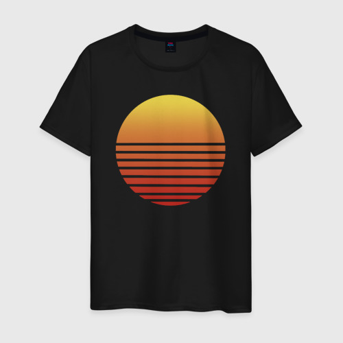 Мужская футболка с принтом Hotline Maiami, вид спереди #2