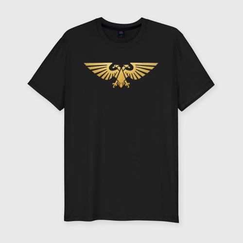 Мужская футболка премиум Warhammer 40 000 Aquila Gold