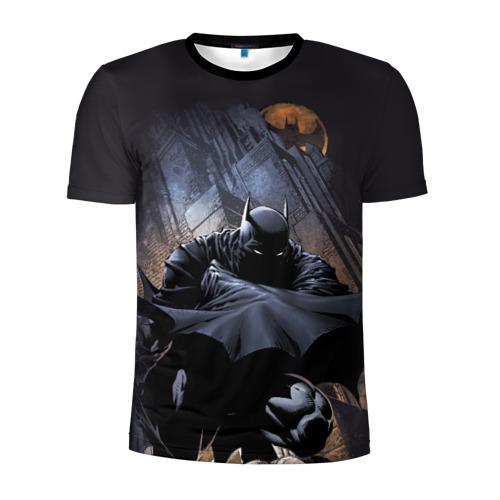 Мужская футболка 3D спортивная Batman