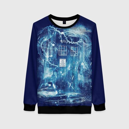 Женский 3D свитшот Doctor Who