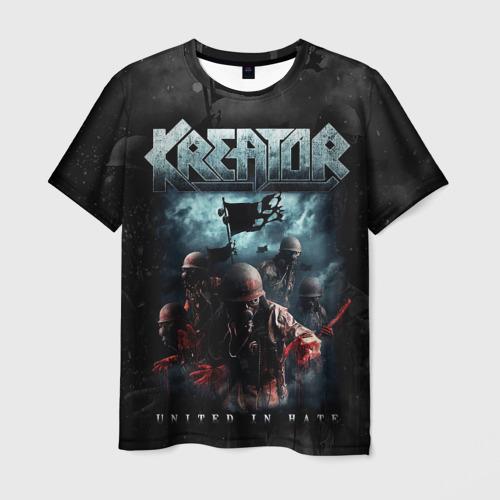 Мужская 3D футболка Kreator
