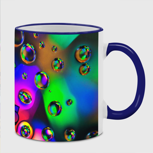 Кружка с полной запечаткой с принтом Brawl Stars LEON bubble, фото на моделе #1