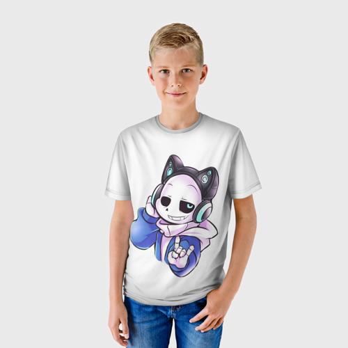 Детская 3D футболка с принтом UNDERTALE, фото на моделе #1