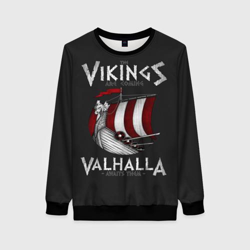 Женский 3D свитшот Vikings Valhalla
