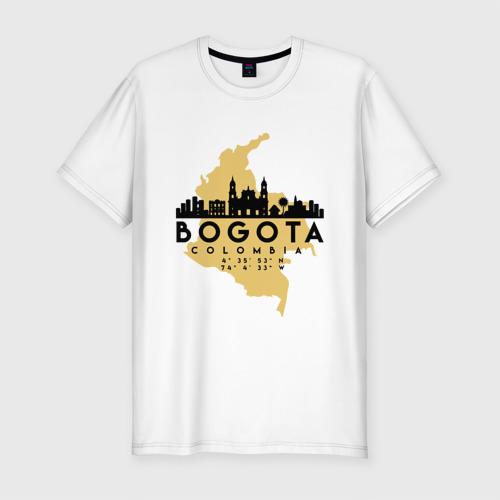 Мужская футболка премиум Богота (Колумбия)
