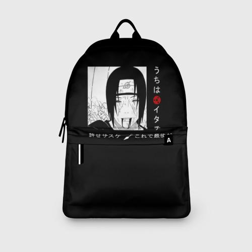 Рюкзак 3D с принтом Итачи, вид сбоку #3