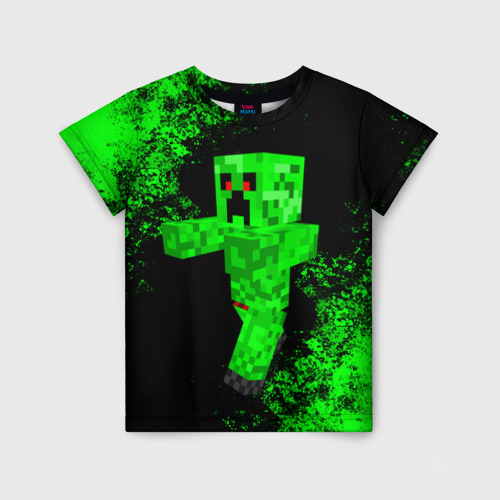 Детская 3D футболка MINECRAFT