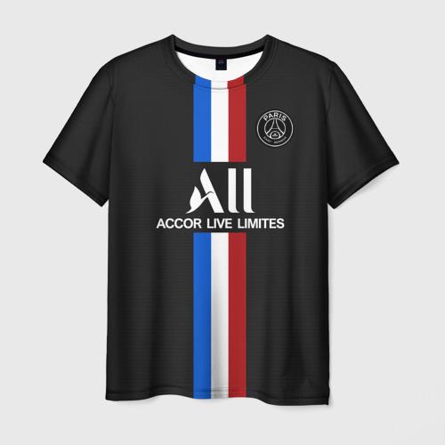 Мужская 3D футболка Neymar UCHL altrernative 19-20