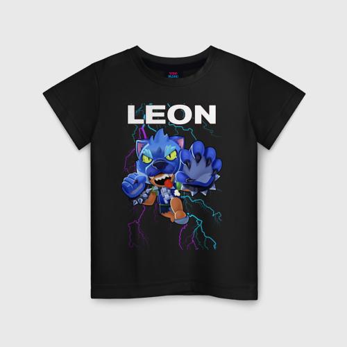 Детская футболка Brawl Stars LEON