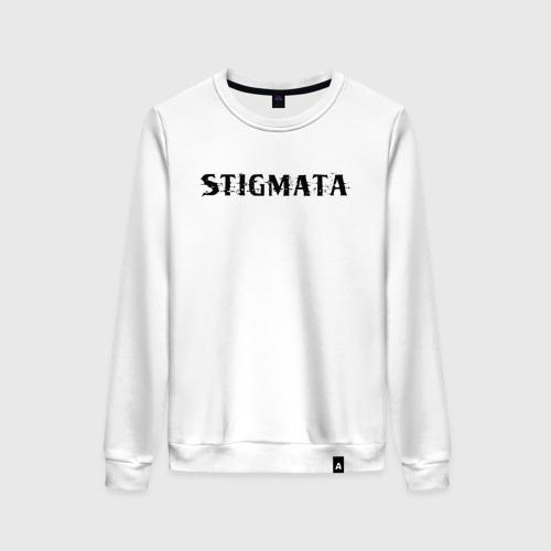 Женский хлопковый свитшот Stigmata   Стигмата (Z)