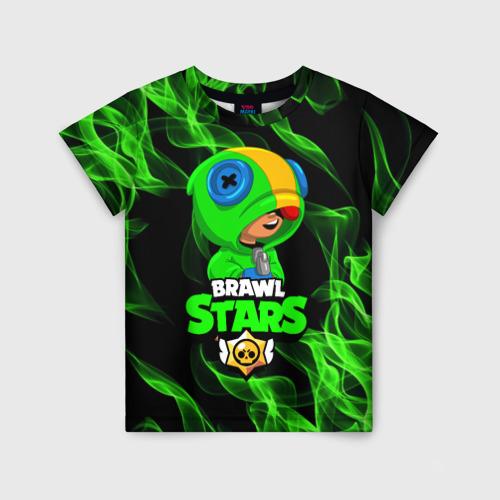 Детская 3D футболка BRAWL STARS LEON / ЛЕОН