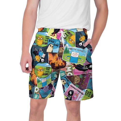 Мужские шорты 3D Время Приключений