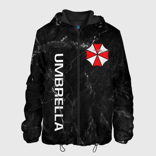Мужская куртка 3D с принтом UMBRELLA CORP, вид спереди #2