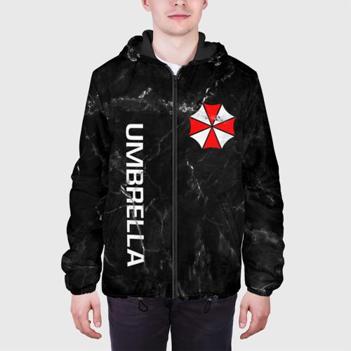 Мужская куртка 3D с принтом UMBRELLA CORP, вид сбоку #3