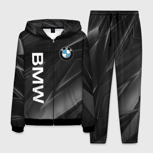 Мужской 3D костюм с принтом BMW | БМВ (Z), вид спереди #2