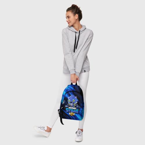 Рюкзак 3D с принтом BRAWL STARS LEON, фото #6