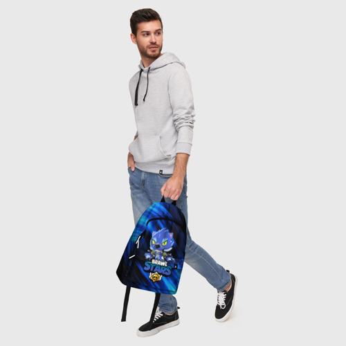 Рюкзак 3D с принтом BRAWL STARS LEON, фото #5