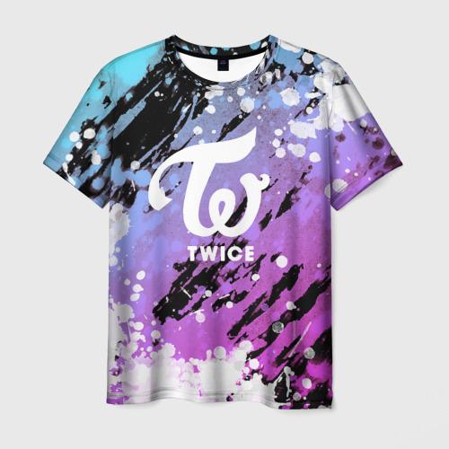Мужская 3D футболка Twice