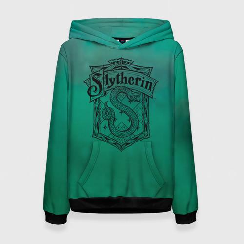 Женская 3D толстовка Coat of Slytherin