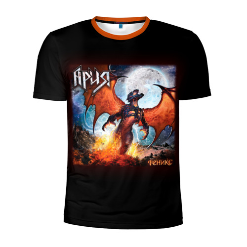 Мужская футболка 3D спортивная Ария