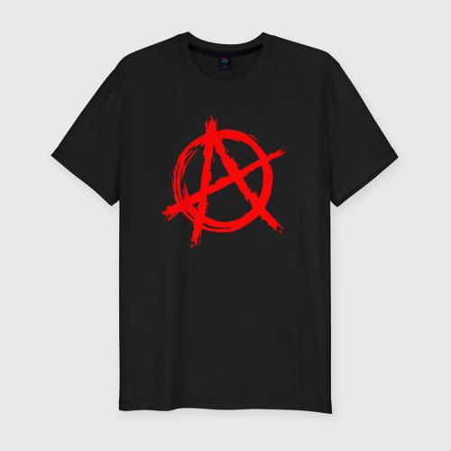 Мужская футболка премиум АНАРХИЯ | ANARCHY (Z)
