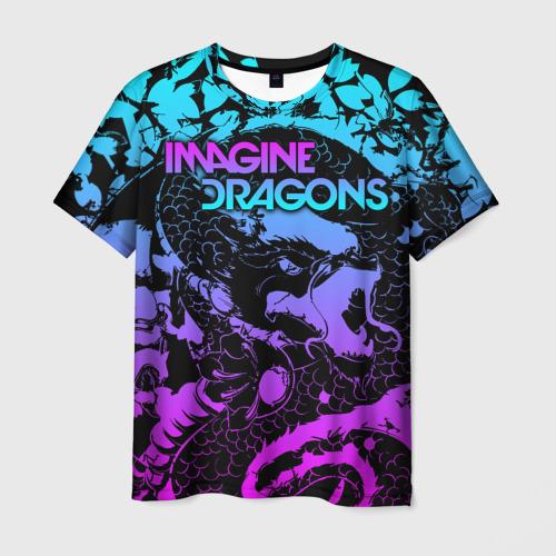 Мужская 3D футболка Imagine Dragons