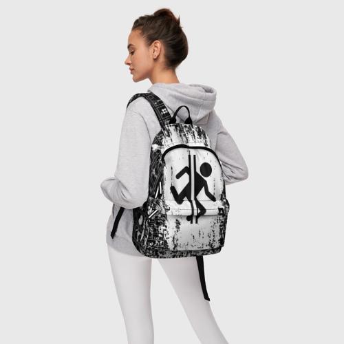 Рюкзак 3D с принтом PORTAL, фото #4