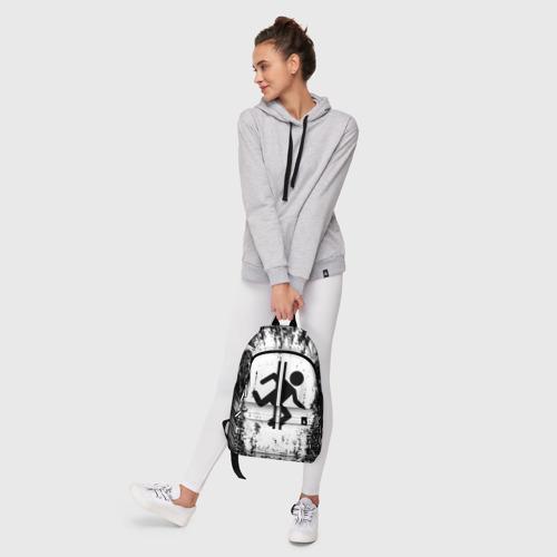 Рюкзак 3D с принтом PORTAL, фото #6