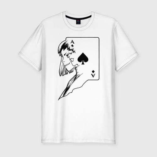 Мужская футболка премиум с принтом Аниме Доктор Стоун, вид спереди #2