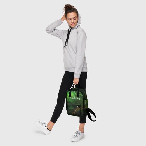 Женский рюкзак 3D с принтом Трейдинг 03, фото #4