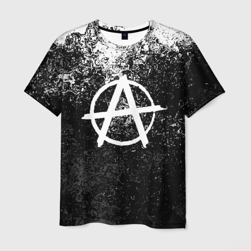 Мужская 3D футболка АНАРХИЯ