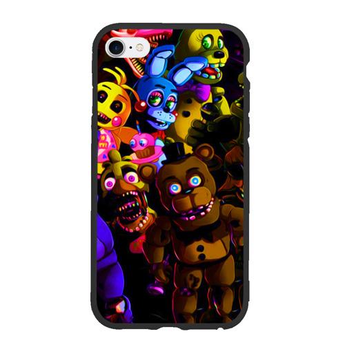 Чехол для iPhone 6/6S матовый Five Nights At Freddy's