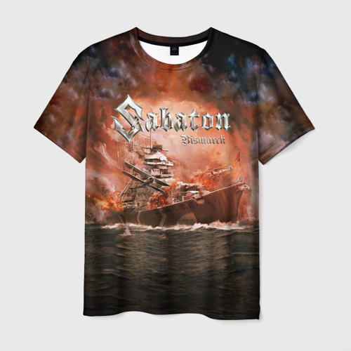 Мужская 3D футболка Sabaton