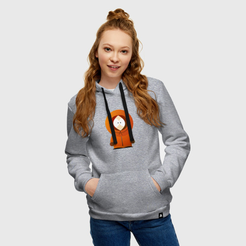 Женская хлопковая толстовка с принтом ЮЖНЫЙ ПАРК | SOUTH PARK (Z), фото на моделе #1
