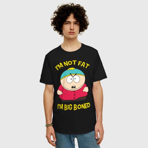 Футболка oversize с принтом South Park, Эрик Картман, фото на моделе #1