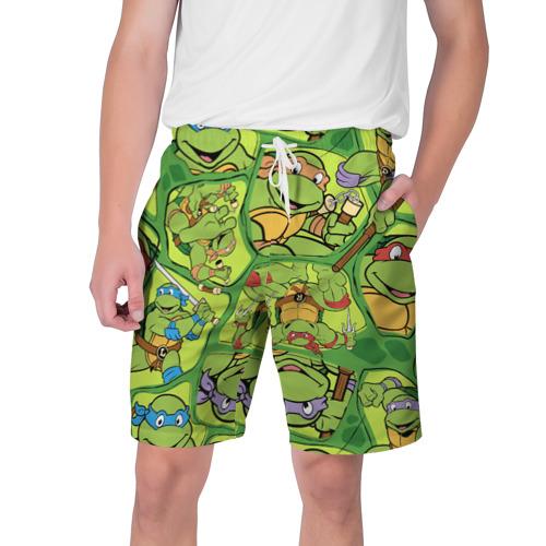 Мужские шорты 3D Teenage Mutant Ninja Turtles