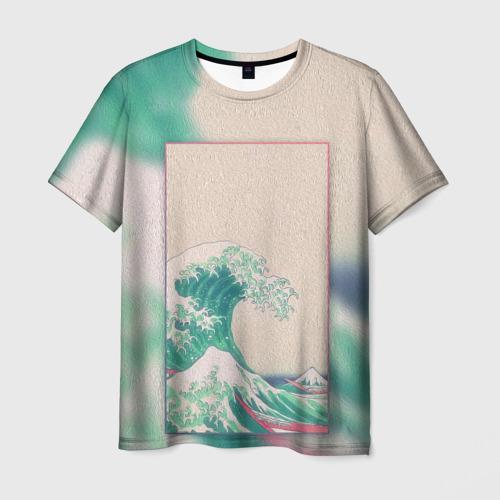Мужская 3D футболка ЯПОНИЯ