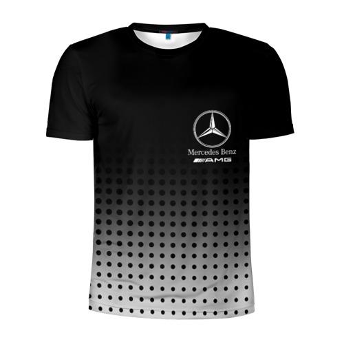 Мужская футболка 3D спортивная Mercedes-Benz