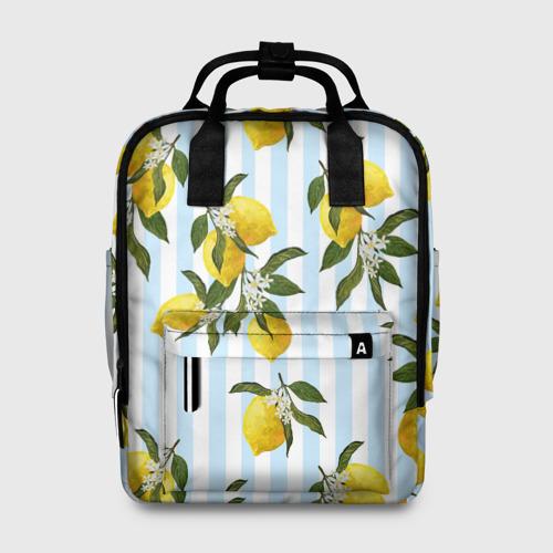 Женский рюкзак 3D Лимоны