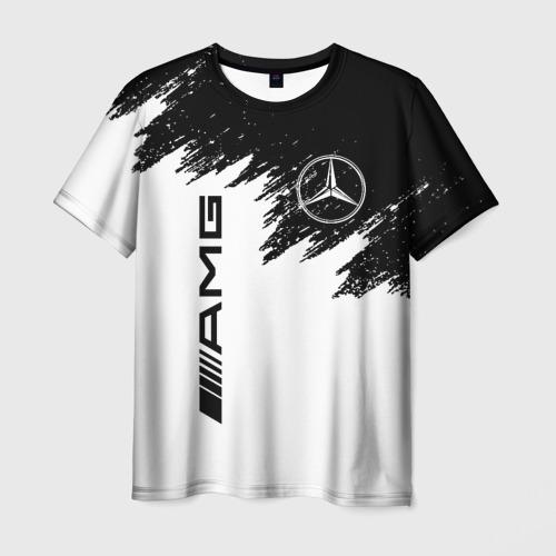Мужская 3D футболка MERCEDES-BENZ AMG