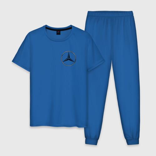 Мужская пижама хлопок Mercedes logo