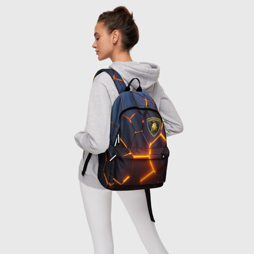 Рюкзак 3D с принтом LAMBORGHINI | 3D ПЛИТЫ, фото #4