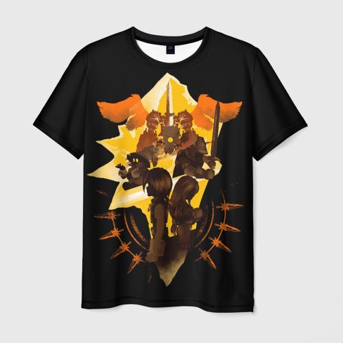 Мужская 3D футболка Final Fantasy