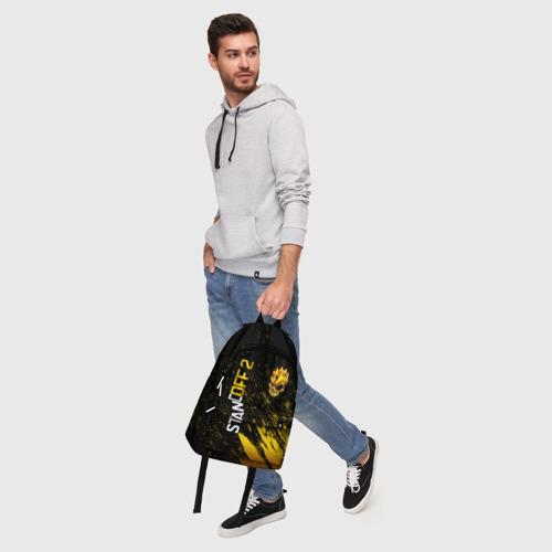 Рюкзак 3D с принтом STANDOFF 2 GOLD SKULL, фото #5