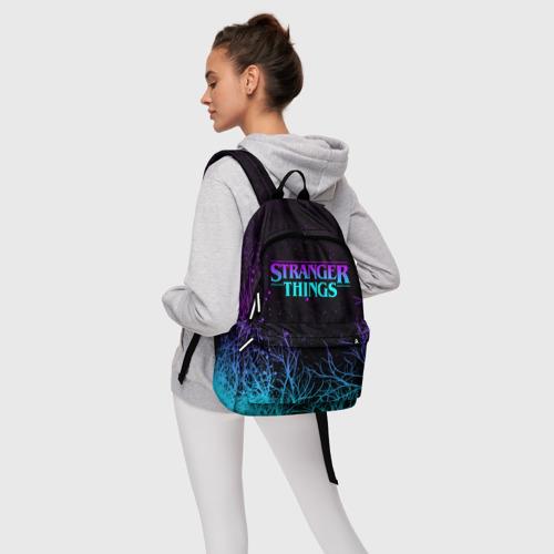 Рюкзак 3D с принтом STRANGER THINGS | ОЧЕНЬ СТРАННЫЕ ДЕЛА, фото #4
